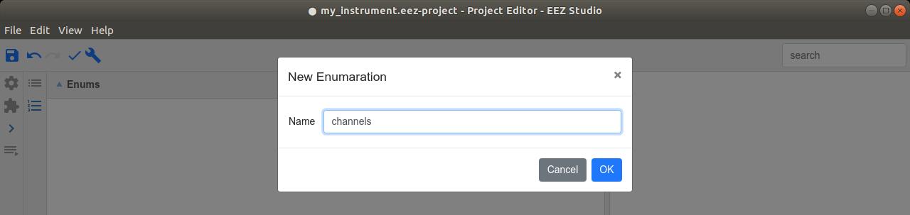 Add new enumeration