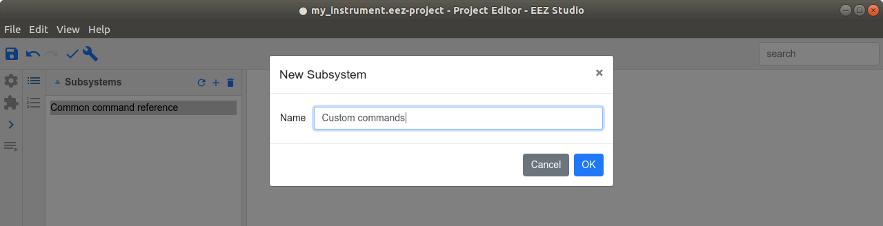 Add new subsystem manually.png